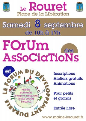 Forum des associations - Le Rouret 8 septembre 2012